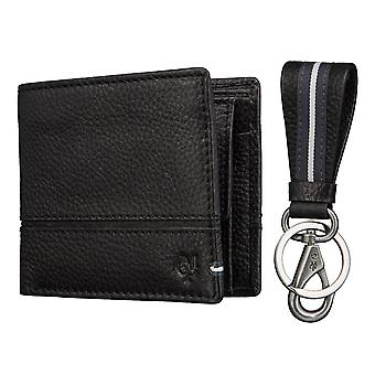 Marc O ´ Polo mens wallet purse coin purse with Keychain 2575