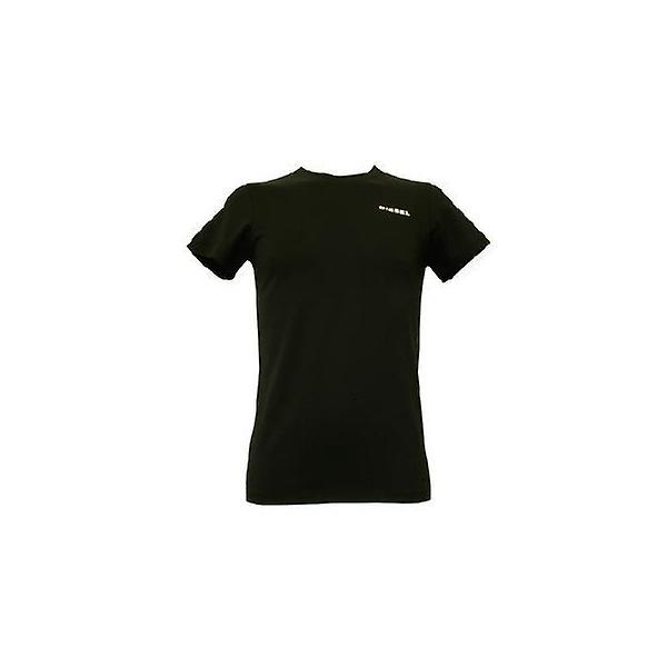 Diesel Diesel Crew Neck T-Shirt, Caviar Black