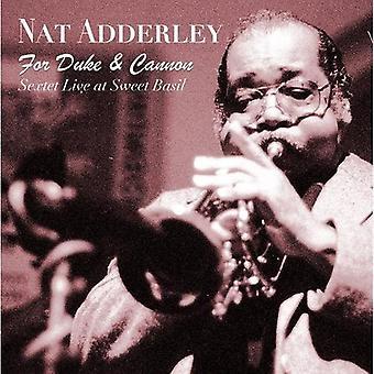 Nat Adderley - For hertug & kanon (sekstet Live på Sweet Basil) [CD] USA import