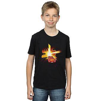 Disney gutter biler Lightning McQueen Burst t-skjorte