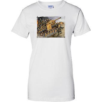Ejército de Alemania mecanizada infantería Panzergrenadier - señoras T Shirt