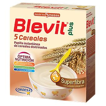 Blevit Papilla Plus Superfiber 5 Cereals 600 gr