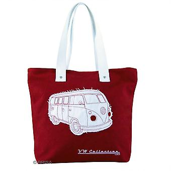 VW Collection Campervan Canvas Shopping Tote Bag