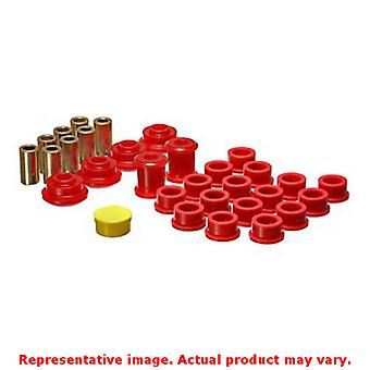 Energy Suspension Control Arm Bushing Set 18.3102R Red Rear Fits:SATURN 1991 -