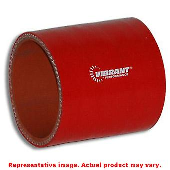 Vibrant Silicone - Straight Hose Couplers 2722R Red 4.5
