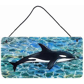 Carolines Treasures  BB5348DS812 Killer Whale Orca Wall or Door Hanging Prints