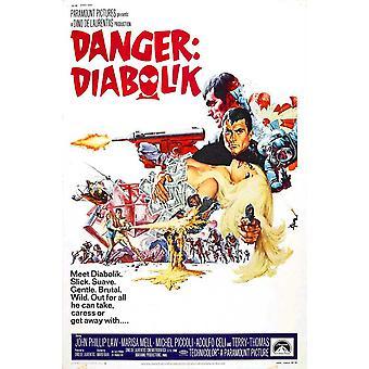 Danger Diabolik Movie Poster (11 x 17)