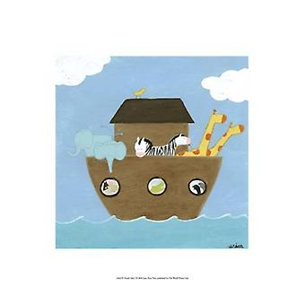 Noahs Arche ich Poster Print von June Erica Vess (13 x 19)