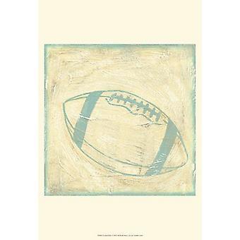Voetbal regels Poster Print by Chariklia Zarris (13 x 19)