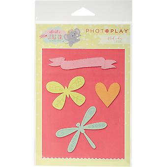 Photo Play Paper Etched Dies-About A Little Girl ALG2470