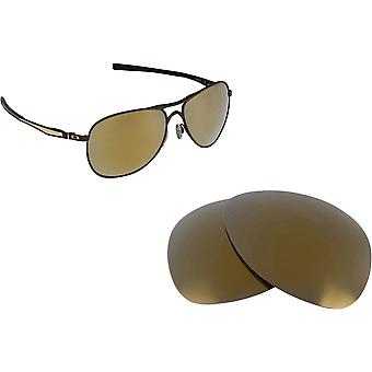 Plaintiff Replacement Lenses Polarized Gold Mirror by SEEK fits OAKLEY