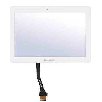 Touch screen digitizer glas för Samsung Tablet 10.1 N8000 N8010 N8013 not slutföra-vit