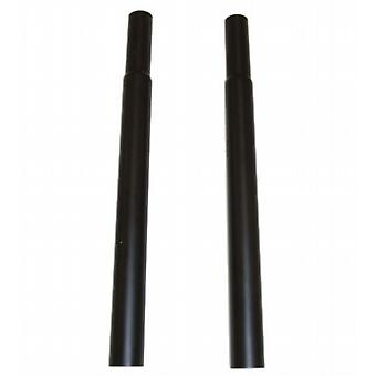 Pair of 46 cm (18in) Black Extension Pieces