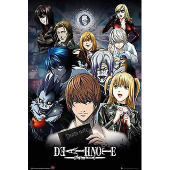 Death Note - nouveau monde affiche Poster Print