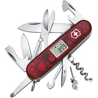 Swiss army knife + digital display No. of functions 21 Victorinox
