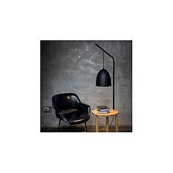 Ideal Lux - Piano Black Floor Lamp Idl145365