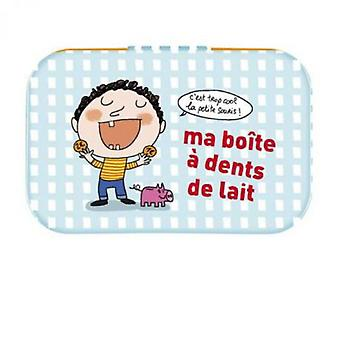 Derrière la Porte Metal Box for All Teeth Child (Decoration , Boxes and baskets , Boxes)