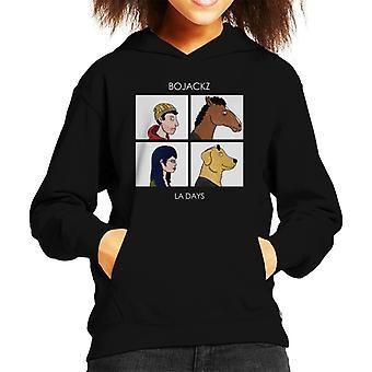 Bojackz La Tage Gorillaz BoJack Horseman Kid das Sweatshirt mit Kapuze