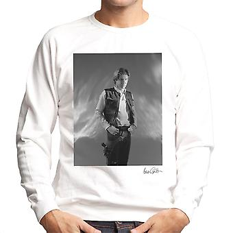 Star Wars Behind The Scenes Han Solo White Men's Sweatshirt
