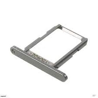 SIM card holder for Samsung Galaxy S6-grey/silver