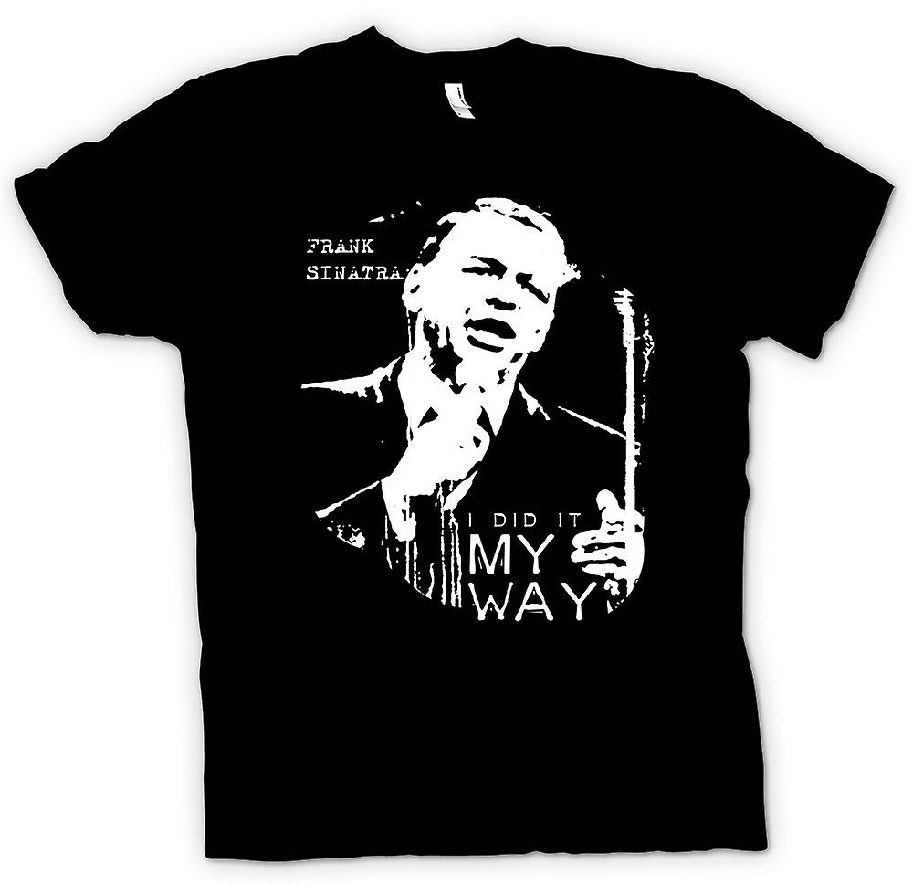 Womens T-shirt - Frank Sinatra My Way - Swing
