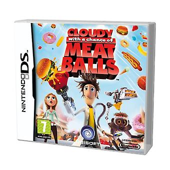 Cloudy With A Chance Of Meatballs (Nintendo DS) - Factory Sealed