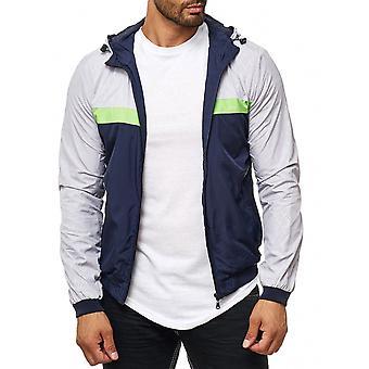 Men's windbreaker mesh network easy transition jacket Hoody Jacket