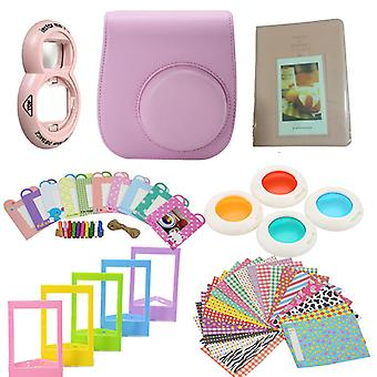 Accessory Pack for Fujifilm Instax Mini 8/9 Camera-Pink