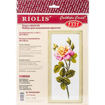 Wonderful Rose Counted Cross Stitch Kit-7.75