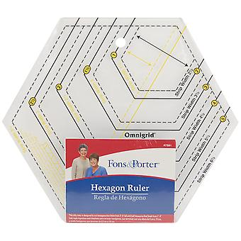 Fons & Porter Hexagon Ruler-2