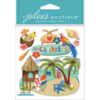 Jolee's Boutique Dimensional Stickers-Caribbean