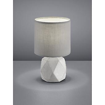 Trio Lighting Pike Modern Concrete Look Concrete Table Lamp