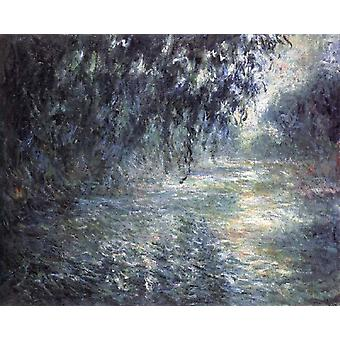 morning on the Seine, Claude Monet, 50x40cm