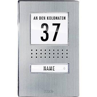 m-e modern-electronics ADV 110.1 EG Door intercom Corded Outdoor panel Detached Stainless steel