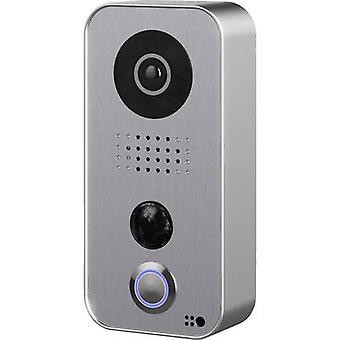 DoorBird D101S IP video door intercom Wi-Fi, LAN Outdoor panel Detached Silver