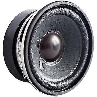 Visaton 2212 Mini loudspeaker Noise emission: 84 dB 4 W 1 pc(s)