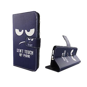 Non toccate il mio telefono mobile caso busta lembo Huawei Nova cassa del portafoglio