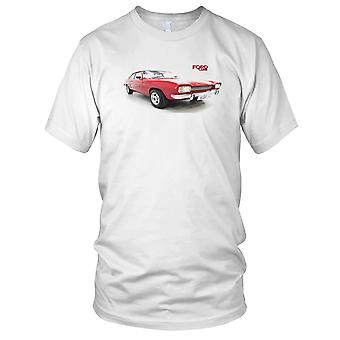 Ford Capri Classic Car Mens T Shirt