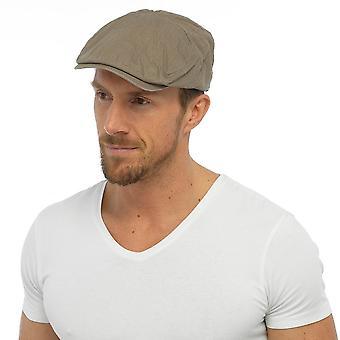 Hombre adulto calidad correa ajustable casquillo plano sombrero 100% algodón