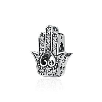 Sterling silver charm hand of Fatima