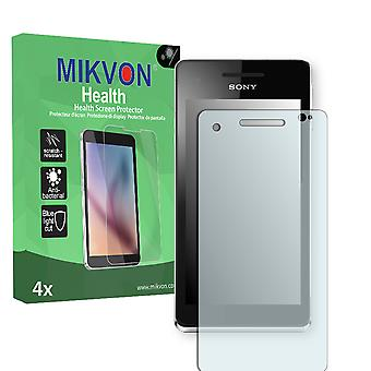 Sony Xperia V Screen Protector - Mikvon Health (Retail Package with accessories)