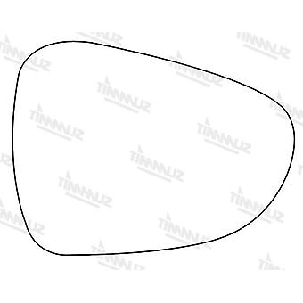Right Stick-On Mirror Glass for Citroen DS3 2010-2017