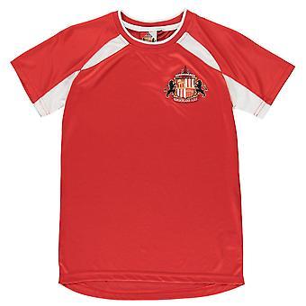 Source Lab Kids Sunderland Football Club T Shirt Junior Boys Lightweight