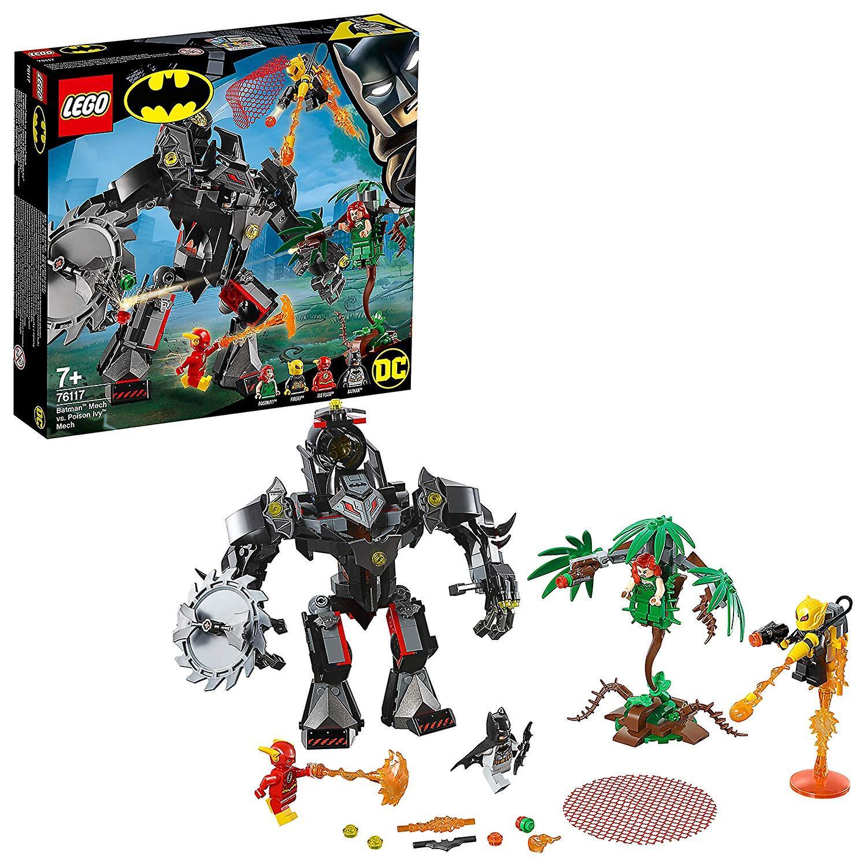 Lego Super Heroes 76117 Bathomme Mech Vs Poison Ivy Mech