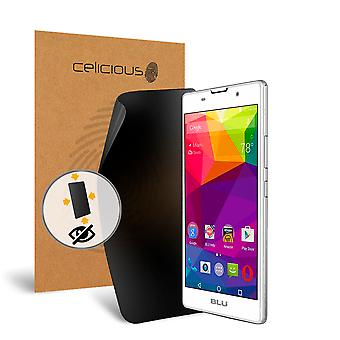 Celicious Privacy Plus 4-Way Anti-Spy Filter Screen Protector Film Compatible with BLU Neo X Plus