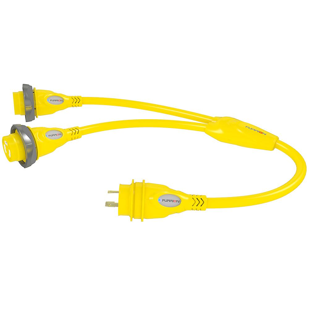 Furrion Y-Adapter Two 30A Female to One 30A Male