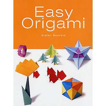 Origami facile par Didier Boursin - livre 9781552979396