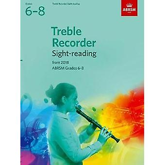 Treble Recorder Sight-Reading Tests - ABRSM Grades 6-8 - from 2018 by