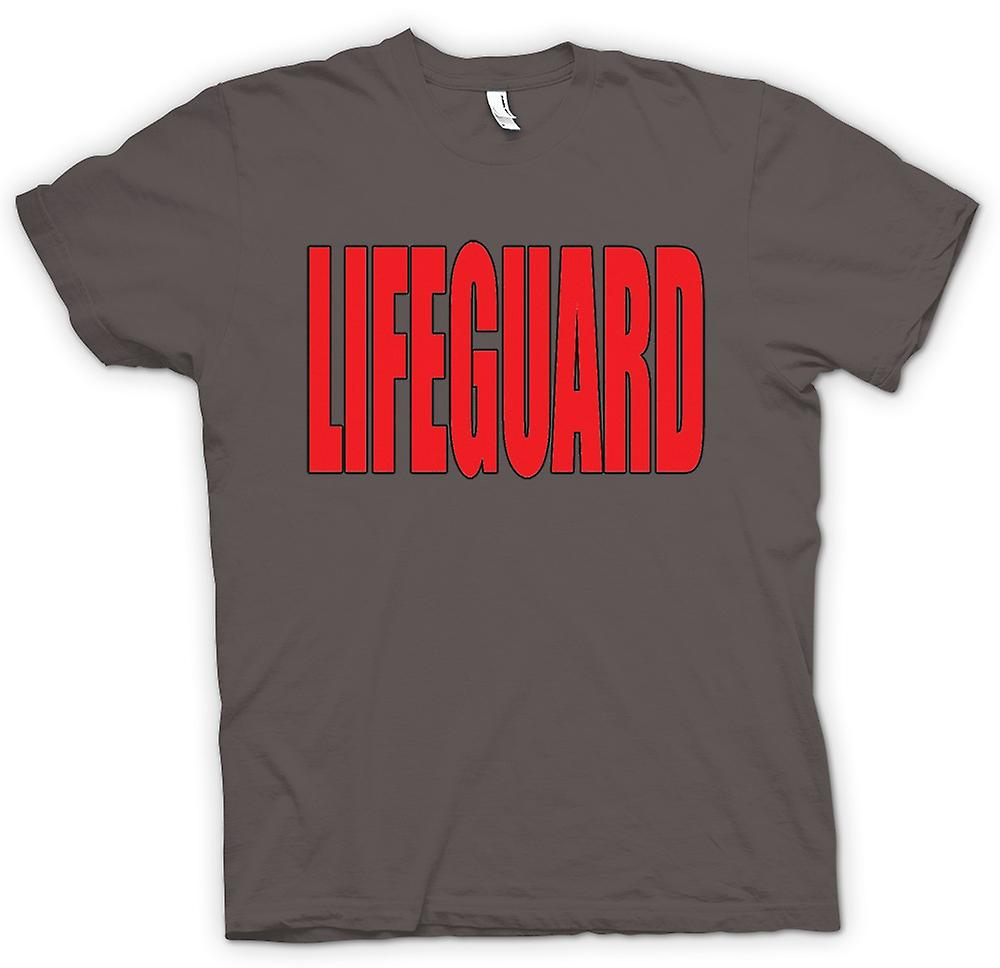 Womens T-shirt - Lifeguard - Funny Humour