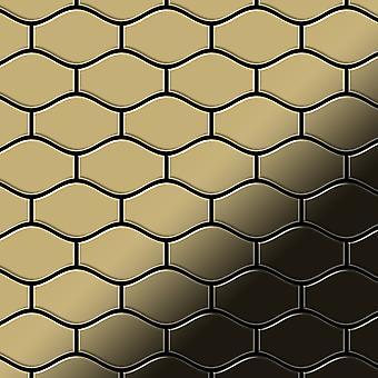 Metal mosaik Titanium LEGERING Karma-Ti-GM